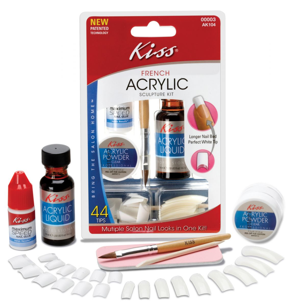 Acrylic Nail Systems: Product Review: Kiss Acrylic Nail Kit